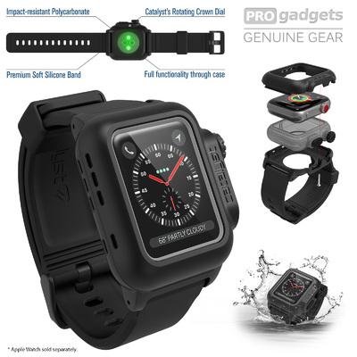 For Apple Watch S3/S2/S1 Case, Genuine Catalyst WaterProof Cover for 42mm