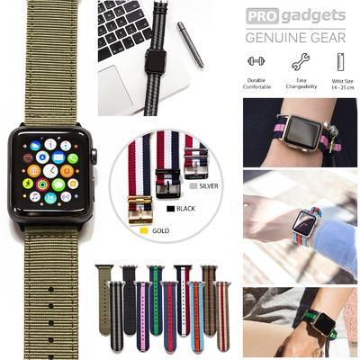 Genuine Southern Straps Durable Nylon Band for Apple Watch Series 6/5/4/3/2/1/SE (38mm/40mm)