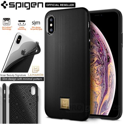 iPhone XS / X Case, Genuine SPIGEN La Manon Classy Chic Design Cover for Apple