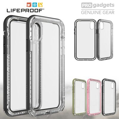 iPhone XS case, Genuine Lifeproof NEXT Slim Rugged Tough Hard Cover for Apple