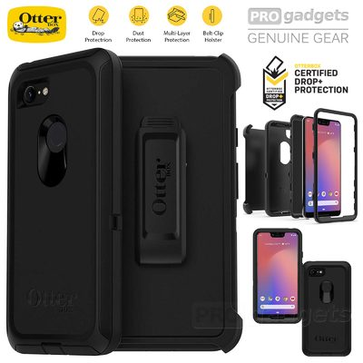 Google Pixel 3 XL Case, Genuine OtterBox Defender Rugged Tough Cover for Google