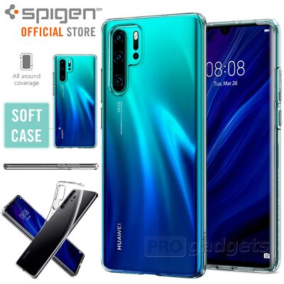 Huawei P30 Pro Case, Genuine SPIGEN Slim Liquid Crystal Soft Cover for Huawei