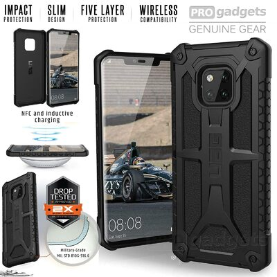 Genuine UAG MIL-STD Drop Shock Tested Monarch Rugged Case for Huawei Mate 20 Pro