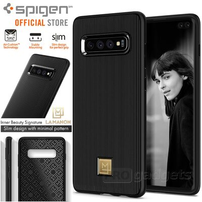 Galaxy S10 Plus Case, Genuine SPIGEN La Manon Classy Design Cover for Samsung
