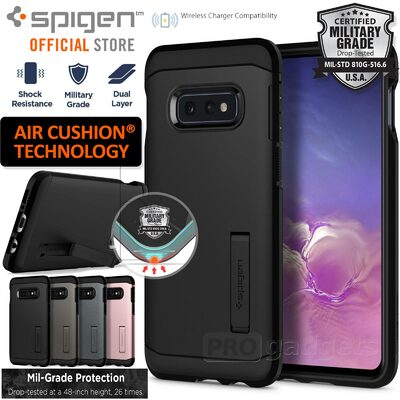 Galaxy S10e Case, Genuine SPIGEN Heavy Duty Tough Armor Cover for Samsung