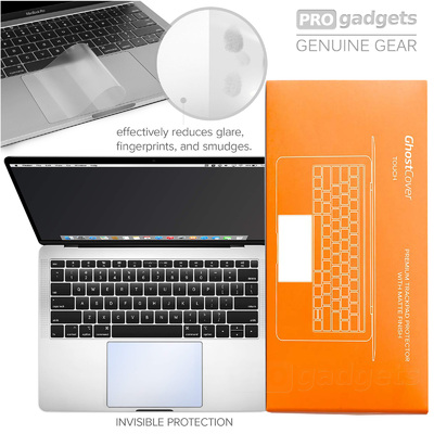 "Genuine UPPERCASE GhostCover Track Pad Protector Macbook Air 13"" 2018 with Retina"