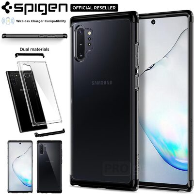 Galaxy Note 10 Plus / 10 Plus 5G Case Genuine SPIGEN Neo Hybrid NC Dual Layer Bumper Cover Samsung