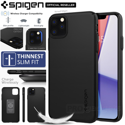 iPhone 11 Pro Max Case, Genuine SPIGEN Extremely Thin fit Air 0.7mm Hard Cover