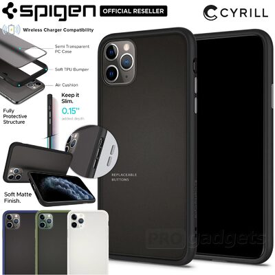 iPhone 11 Pro Max Case, Genuine SPIGEN Ciel by CYRILL Color Brick Hard Cover for Apple