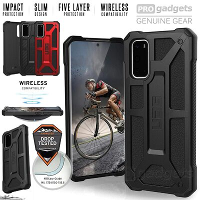 Genuine UAG MIL-STD Drop Shockproof Monarch Rugged Case for Samsung Galaxy S20