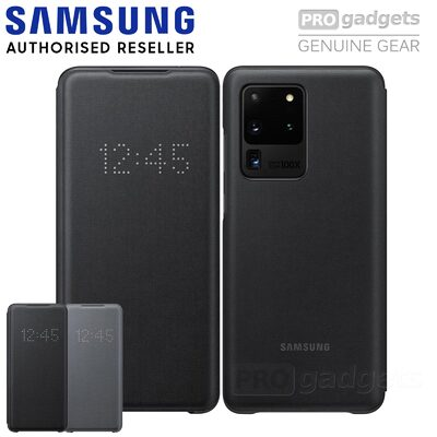 Genuine Original Samsung Galaxy S20 Ultra SM-G988 LED View Cover Wallet Case