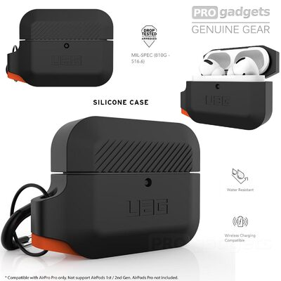 Genuine UAG Silicone Protective Slim Rugged Cover for Apple AirPods Pro Case