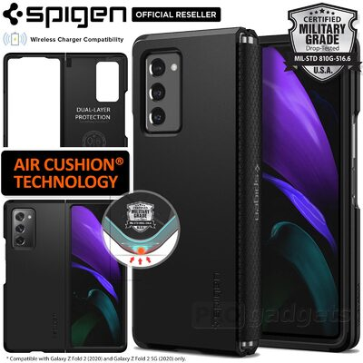 Genuine SPIGEN Tough Armor Heavy Duty Hard Cover for Samsung Galaxy Z Fold 2 5G Case