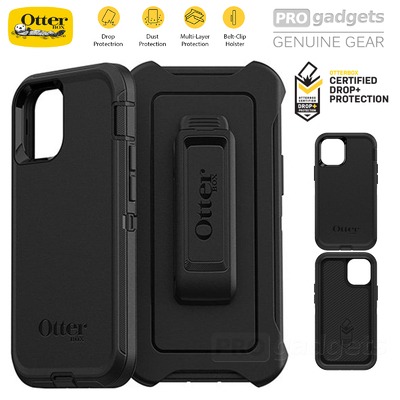 Genuine OTTERBOX Defender Rugged Tough Hard Cover for Apple iPhone 12 Pro Max (6.7-inch) Case