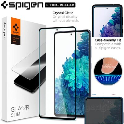 Genuine SPIGEN GLAS.tR Full Cover Glass for Samsung Galaxy S20 FE/5G Screen Protector