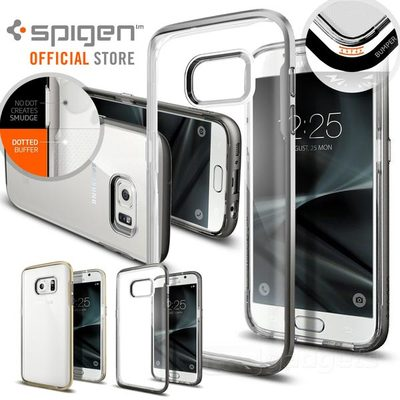 Galaxy S7 Case, Genuine SPIGEN Neo Hybrid Crystal Cover w Bumper for Samsung