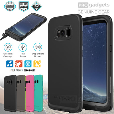 Genuine LIFEPROOF FRE Dust Shock Water Proof Case for Samsung Galaxy S8