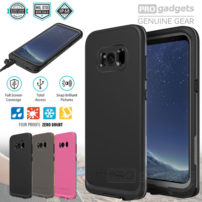 Genuine LIFEPROOF FRE Dust Shock Water Proof Case for Samsung Galaxy S8 Plus