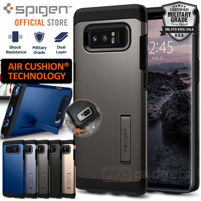 Galaxy Note 8 Case, Genuine SPIGEN Heavy Duty Tough Armor Hard Cover for Samsung